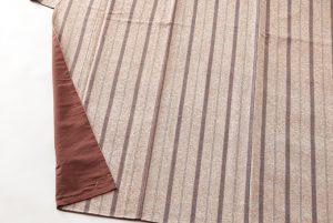 出羽の織座謹製 ぜんまい織着物 のサブ3画像
