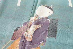 初代由水十久作 本加賀友禅訪問着のサブ5画像