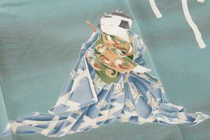 初代由水十久作 本加賀友禅訪問着のサブ6画像