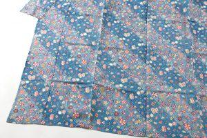 岡本紘子作 型絵染紬着物地 「嬉々として」のサブ2画像