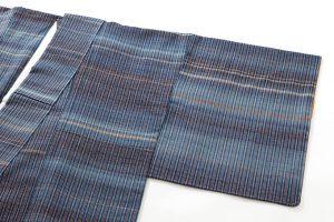 志村ふくみ作 紬着物「藍旅衣」のサブ1画像