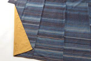 志村ふくみ作 紬着物「藍旅衣」のサブ3画像
