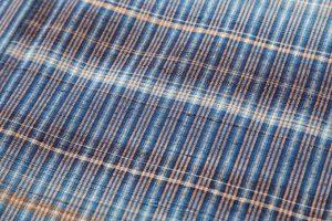 志村ふくみ作 紬着物「藍旅衣」のサブ4画像