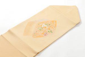 人間国宝 福田喜重作 刺繍塩瀬名古屋帯のサブ1画像