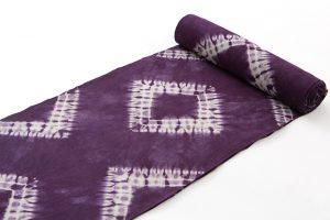 草紫堂謹製 南部紫根染 綿着尺のサブ1画像