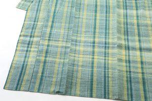 志村ふくみ作 紬着物 「杜の中」のサブ2画像