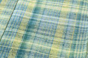 志村ふくみ作 紬着物 「杜の中」のサブ3画像