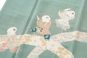 由水充(2代目由水十久)作 本加賀友禅色留袖のサブ3画像