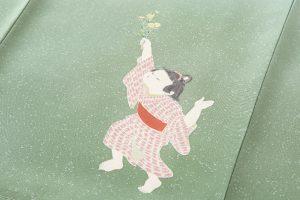 初代由水十久作 本加賀友禅色留袖のサブ4画像