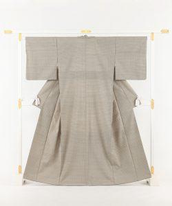 藤山千春作 紬着物「吉野間道」のメイン画像