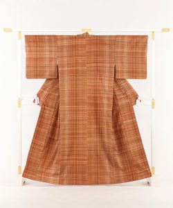 志村ふくみ作 紬着物「和染 手紬織」のメイン画像