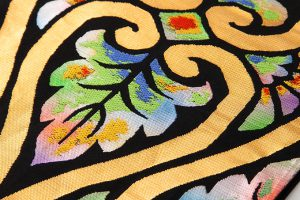 龍村美術織物謹製 袋帯「立湧彩華」のサブ3画像
