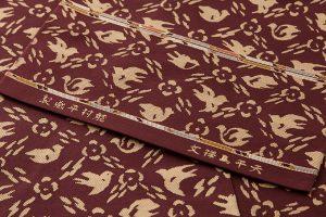 龍村平蔵製 丸帯「天平鳥襻文」のサブ3画像