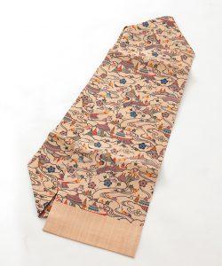 城間栄順作 本紅型芭蕉布九寸名古屋帯のメイン画像