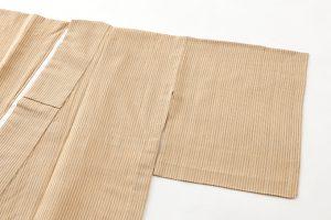 本場結城縮 単衣着物のサブ1画像