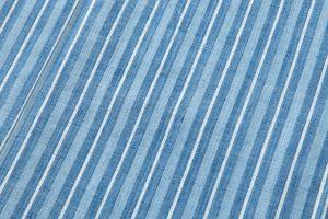 本場結城紬 藍染単衣着物のサブ3画像