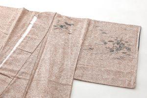 出羽の織座製 ぜんまい紬訪問着のサブ1画像