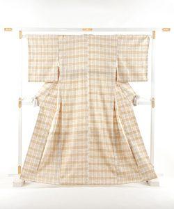 黒田妙美作 紬着物のメイン画像