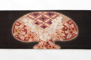 初代久保田一竹作 袋帯 「侘び」のサブ3画像