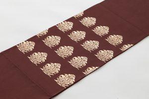 龍村平蔵製 袋帯地 「名物大鶏頭金襴」のサブ1画像