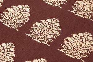 龍村平蔵製 袋帯地「名物大鶏頭金襴」のサブ2画像
