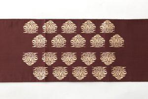 龍村平蔵製 袋帯地 「名物大鶏頭金襴」のサブ3画像