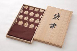 龍村平蔵製 袋帯地 「名物大鶏頭金襴」のサブ5画像