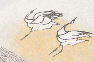 田島比呂子作 塩瀬名古屋帯のサブ2画像