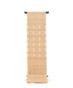 喜如嘉芭蕉布 花織八寸名古屋帯のメイン画像