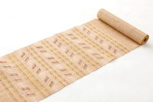 喜如嘉芭蕉布 花織八寸名古屋帯のサブ1画像