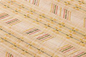 喜如嘉芭蕉布 花織八寸名古屋帯のサブ2画像