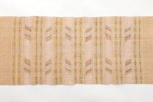 喜如嘉芭蕉布 花織八寸名古屋帯のサブ3画像