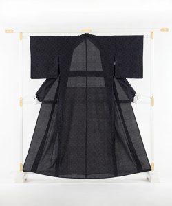 宮古紬 単衣着物のメイン画像
