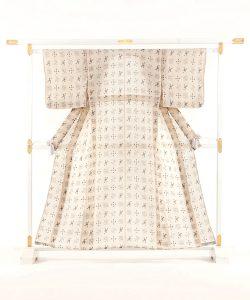 林宗平作 越後上布着物 のメイン画像