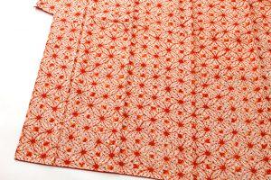 草紫堂謹製 茜染 紬着物のサブ2画像