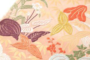 山口織物製 唐織袋帯地 「百合水草文」のサブ4画像