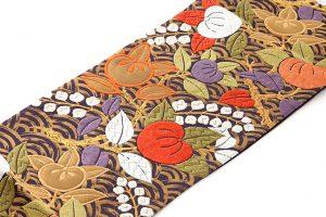山口織物製 袋帯地 「青海に橘」のサブ1画像