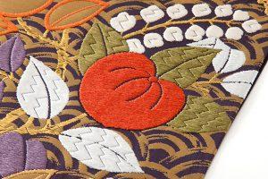 山口織物製 袋帯地 「青海に橘」のサブ2画像