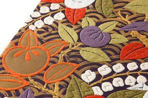 山口織物製 袋帯地 「青海に橘」のサブ3画像