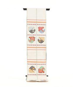 龍村平蔵製 袋帯「甲比丹孔雀」のメイン画像