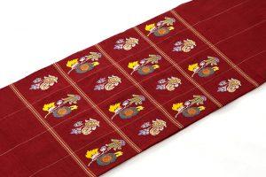 龍村平蔵製 袋帯「モール草花」のサブ1画像
