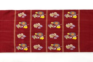 龍村平蔵製 袋帯「モール草花」のサブ3画像