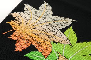 龍村平蔵製 夏袋帯「かえで錦」のサブ3画像