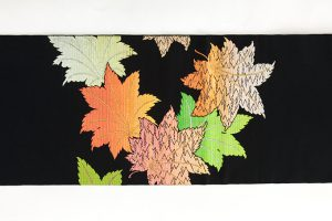 龍村平蔵製 夏袋帯「かえで錦」のサブ4画像