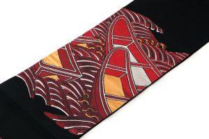 龍村平蔵製 袋帯「堆赤小船錦」のサブ1画像