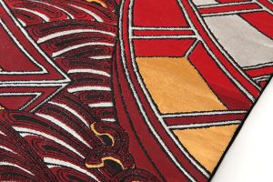 龍村平蔵製 袋帯「堆赤小船錦」のサブ2画像