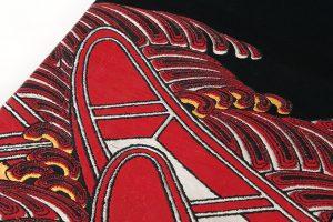 龍村平蔵製 袋帯「堆赤小船錦」のサブ3画像