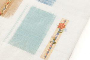 志村洋子作 九寸帯 「花吹き寄せ」のサブ3画像