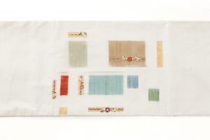 志村洋子作 九寸帯 「花吹き寄せ」のサブ4画像