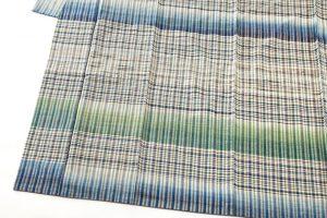 志村ふくみ作 紬着物「翠影」のサブ2画像